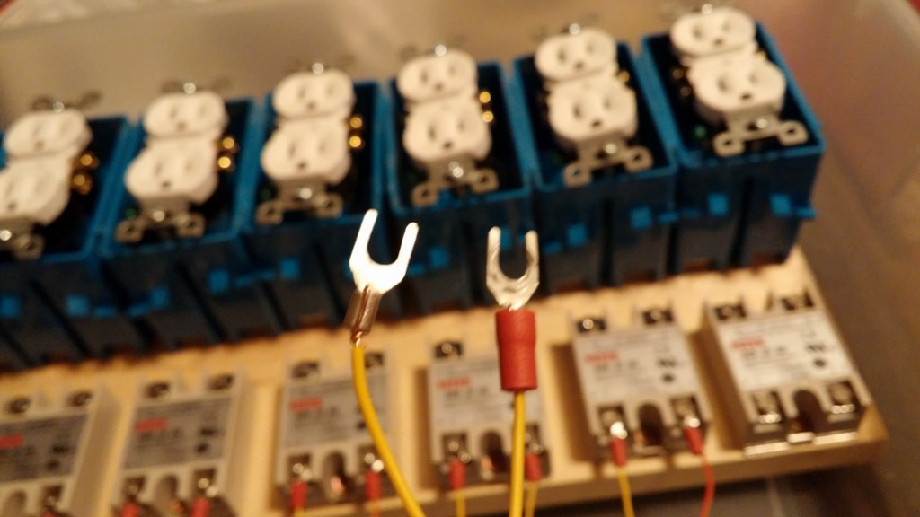 Wiring relays